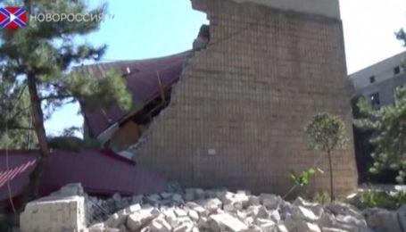Канал сепаратистів показав зруйнований краєзнавчий музей у Донецьку