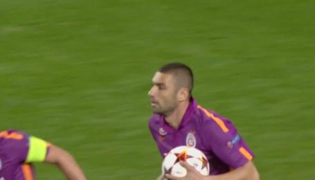 Арсенал - Галатасарай - 4: 1. Видео гола Бурака