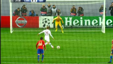 ЦСКА - Бавария - 0:1. Видео гола Мюллера