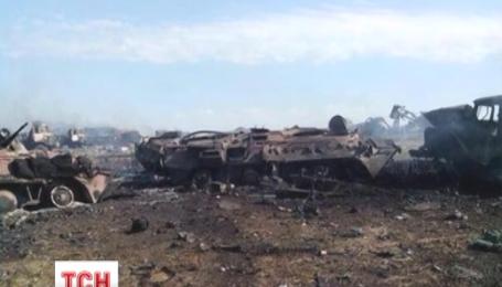 Нерівний бій відбувся на світанку на біля селища Зеленопілля