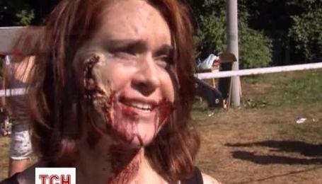 В Москве устроили забег от зомби