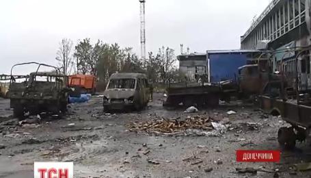 ТСН отримала ексклюзивне відео з Донецького аеропорту