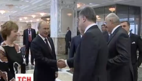 Президент Порошенко единственным выходом видит дипломатическое решение