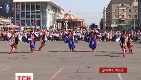 Днепропетровск сегодня отмечает день города