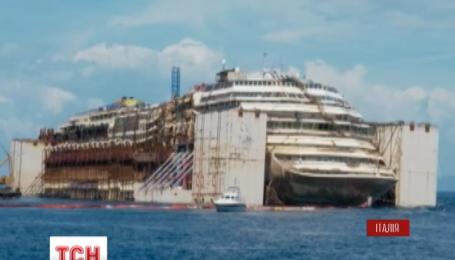 """""""Італійський Титанік"""" пустили на брухт"""