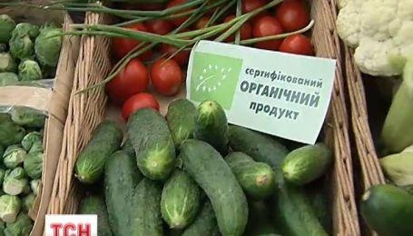 В Києві відбувся ярмарок органічних продуктів