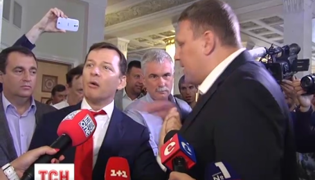"""""""Радикал"""" Ляшко получил на орехи в кулуарах Верховной Рады за чрезмерный пиар"""
