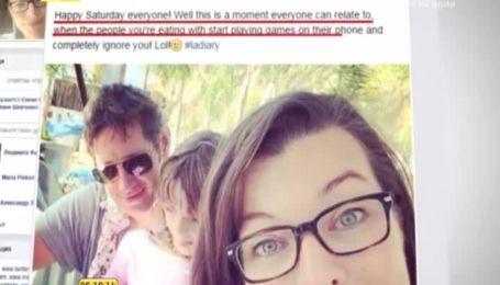 Йовович пожаловалась, что ее дочь и муж не обращают на нее внимание