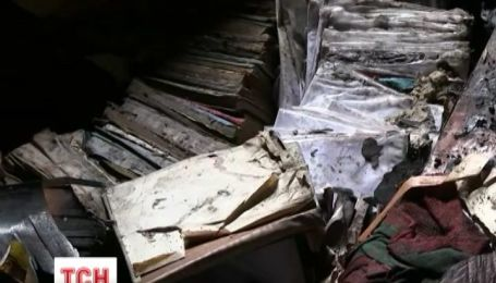 В медицинском университете Богомольца утром потушили пожар
