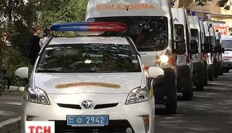 20 раненых бойцов из киевского госпиталя отправили на лечение в Германию
