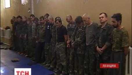 """Журналистам показали пленных батальоном """"Айдар"""" сепаратистов"""