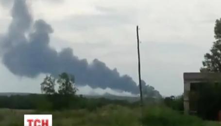 На Донеччині впав пасажирський літак
