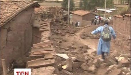 Землетрясение стерло с лица земли поселок в Перу
