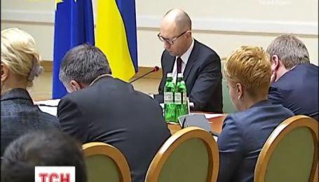 Яценюк закликав економити газ, а Європа допомагає з вирішенням кризи