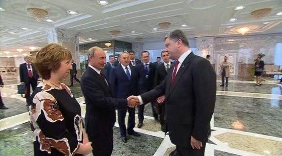 Порошенко зателефонував Путіну. Про що говорили президенти