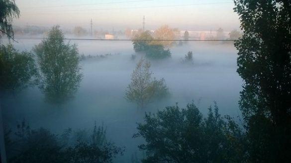 Смог, туман у Павлограді_2