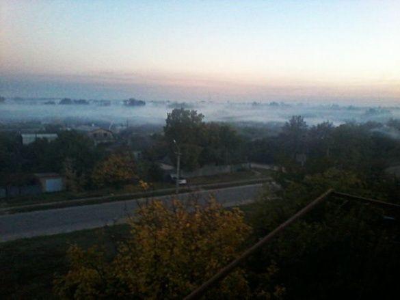 Смог, туман у Павлограді_3