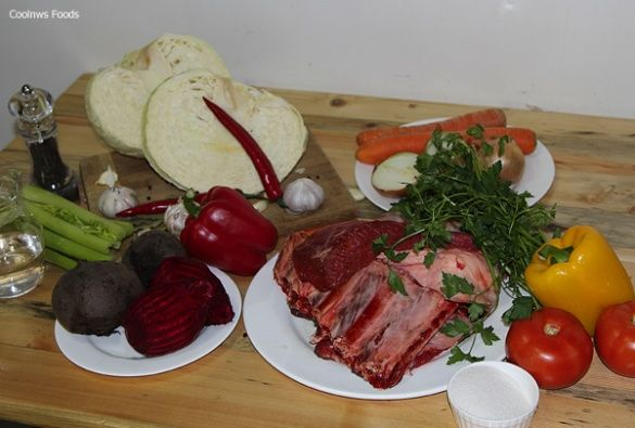 Борщовий набір, борщ, овочі