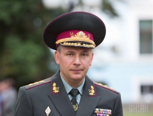 Голова Міноборони, генерал-полковник Валерій Гелетей