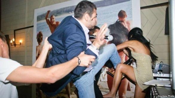 Бійка українців з росіянами