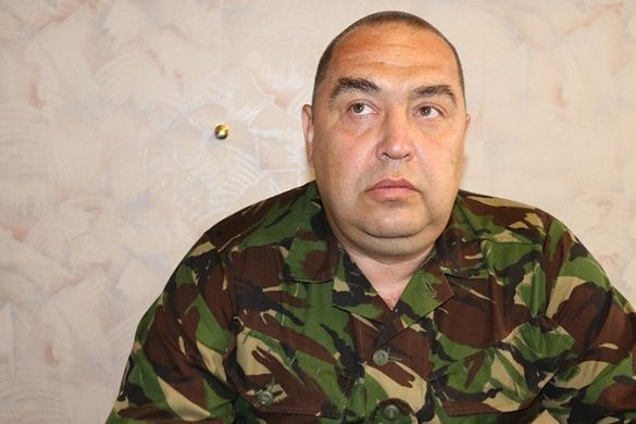 Ватажок бойовиків Ігор Плотницький