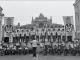 Выступление ансамбля песни и пляски одесского военного округа возле  Одесского театра  оперы и балета во время празднования Дня независимости Украины.  Одесса, 24 августа 1992 года