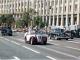 Парад ретро-автомобилей во время театрализованного действа на Крещатике  по случаю 7-й годовщины независимости Украины. Киев, 24 августа 1998 года