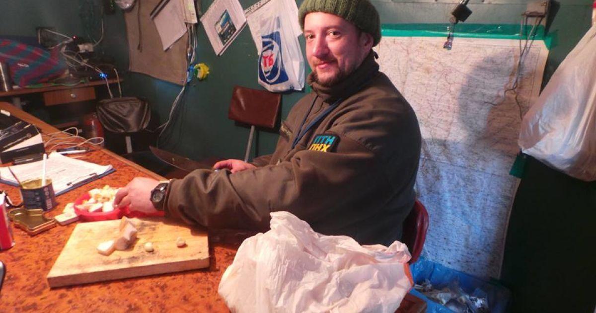 Мужественные мужчины показали магию приготовления украинского блюда @ facebook.com/Володимир Скоростецький