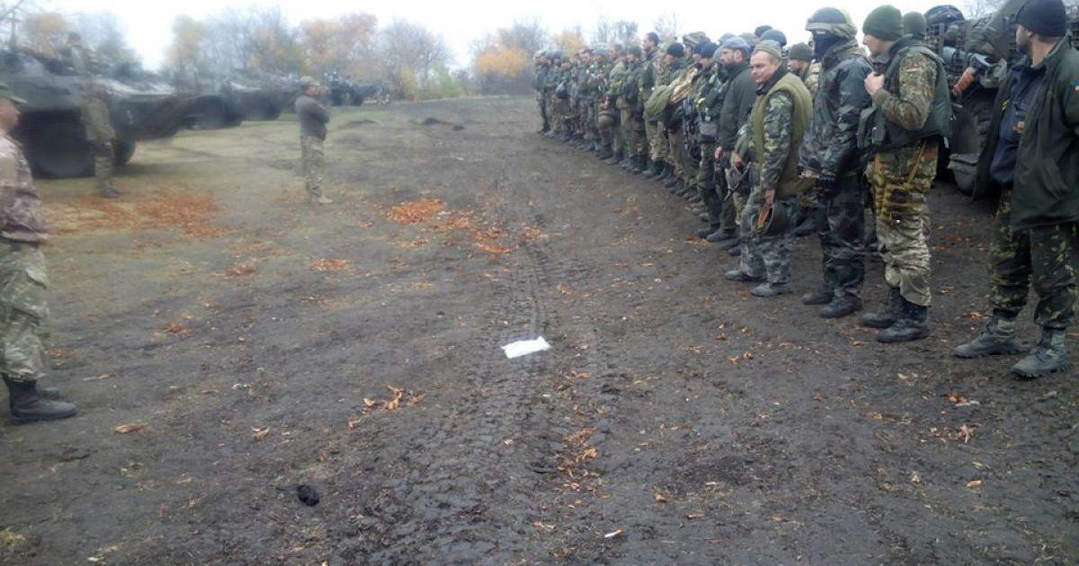 """""""Киборги"""" из 79-й бригады поехали отдыхать в Николаев @ facebook/dmitry.marchenko"""