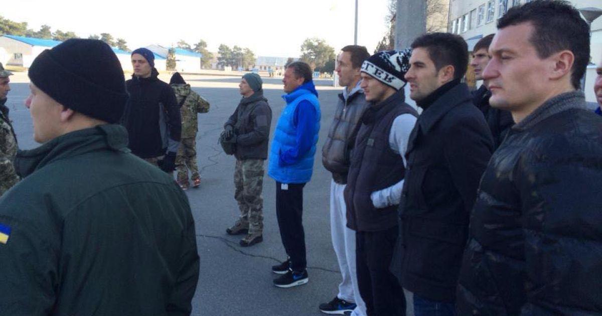 """""""Днепр"""" поддержал десантников @ facebook.com/HelpArmy.in.ua"""