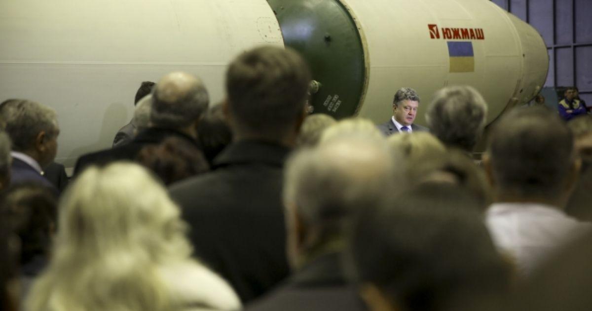 """21.10 18:08  Продукцию """"Южмаша"""" будет включено в государственный оборонный заказ @ facebook.com/visitlviv.net"""