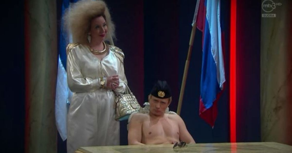 Путина высмеяли на финском телевидении @ mtv.fi