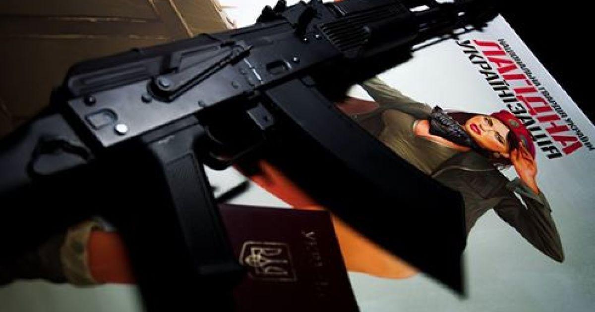 Среди украинских военных все большую популярность приобретает патриотический пин-ап @ facebook.com/sou1seeker
