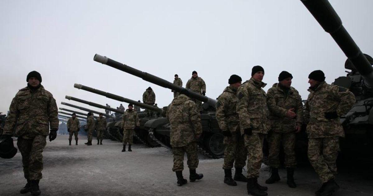 Украинская армия в свой праздник получила огромное количество техники. @ Никита Шохов / «Русская планета»