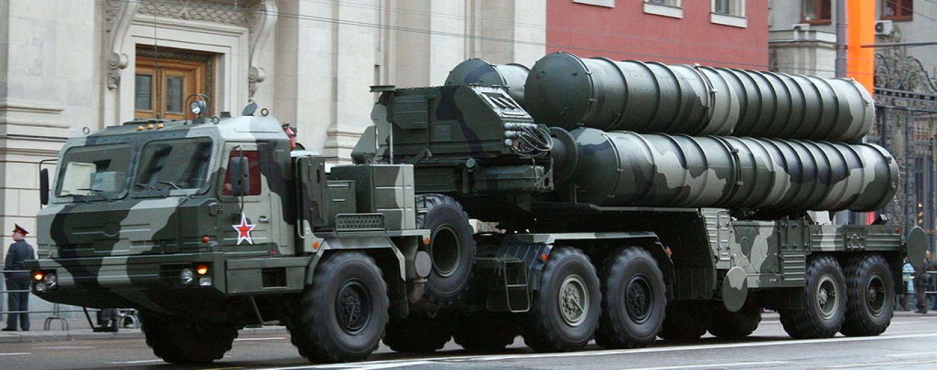 Россия развернула четвертый дивизион ракетных установок С-400 в оккупированном Крыму