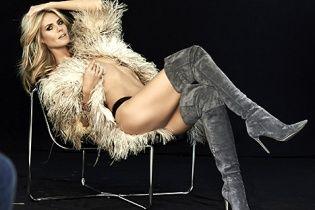 Довгонога Хайді Клум роздяглася у рекламі електроніки