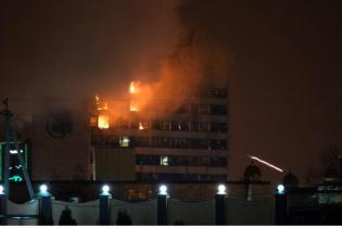 Чеченські МНС-ники не помітили пожежі та стрілянину в Грозному