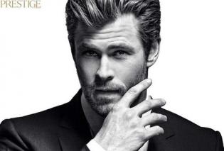 Найсексуальніший чоловік року Кріс Хемсворт знявся у стильній фотосесії