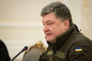 Порошенко сегодня соберет заседание СНБО из-за обострения ситуации