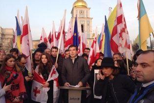 Украинский народ спасает Европу от нового ига - Саакашвили