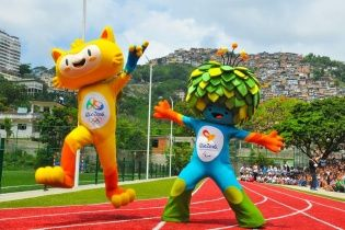 Талісмани Олімпіади-2016 отримали імена музикантів
