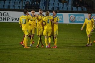 СуперЯрмоленко принес Украине разгромную победу над Люксембургом