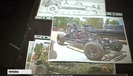 Українські розвідники отримають броньований бойовий спорткар