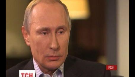 Путин считает аннексию Крыма нормальным явлением