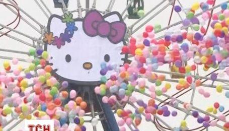 В Китаї відкрили тематичний парк Hello Kitty