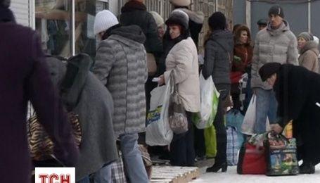 Беженцы из Донбасса благодарны киевским волонтерам, но все же надеются на возвращение домой