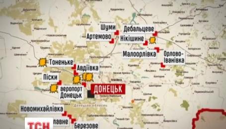 47 разів бойовики відкривали вогонь по позиціями українських сил