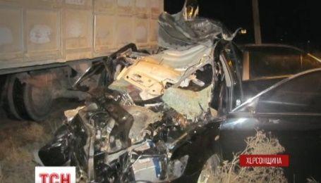 6 людей загинули в ДТП на Херсонщині