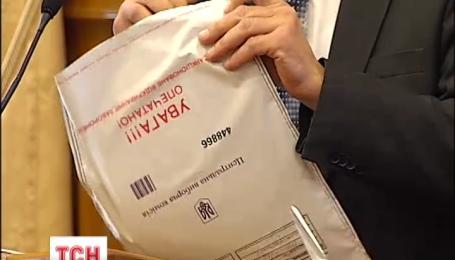 В ЦИК прибыли протоколы со скандального 60 округа из Волновахи