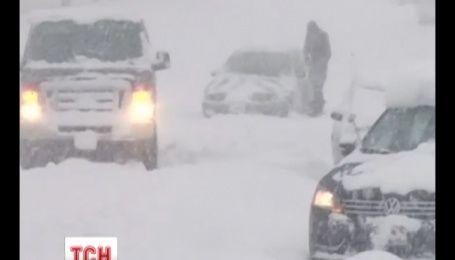 Внезапный снегопад и мороз застал врасплох США